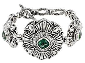 Bali Hai Green™ Topaz Silver Bracelet 5.45ctw