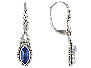 Royal Bali Blue™ Topaz Silver Earrings 2.04ctw