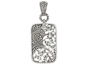 "Sterling Silver ""According To A Purpose"" Pendant"