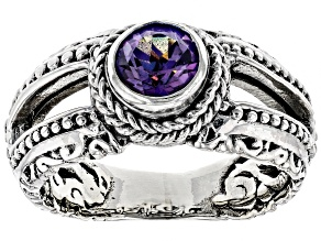 Talkative™ Mystic Topaz® Silver Ring 1.00ctw