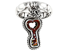 Zero Saturn™ Mystic Quartz® Key Silver Ring 0.97ctw