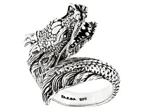 Sterling Silver Dragon Ring