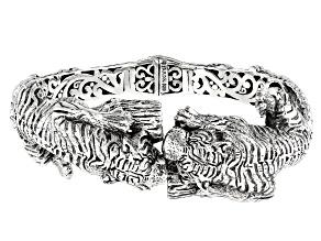 Sterling Silver Tiger Bracelet