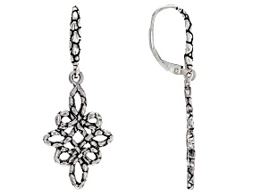 "Sterling Silver ""Harmonious Tribute"" Earrings"