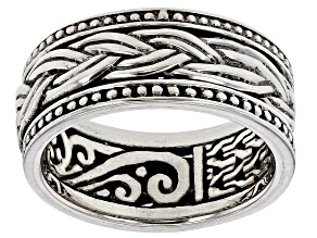 Sterling Silver Spinner Band Ring