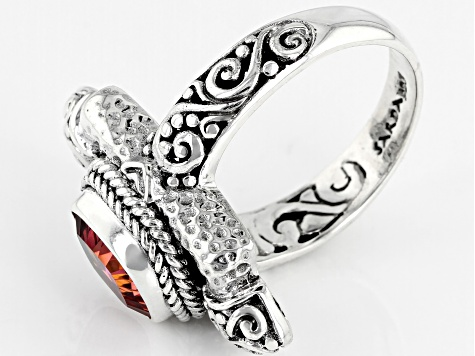 Hoity Toity™ Quartz Sterling Silver Ring 1.70ctw