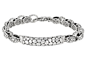 "Sterling Silver "" Agape Love"" Bracelet"
