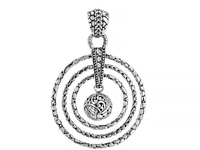 Sterling Silver Graduated Pendant