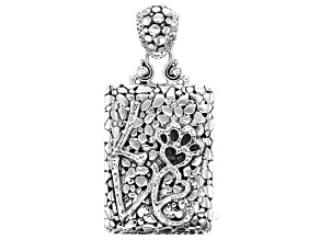 Sterling Silver Inspirational Pendant