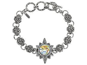Zero Saturn™ Mystic Quartz® Silver Bracelet 6.16ctw