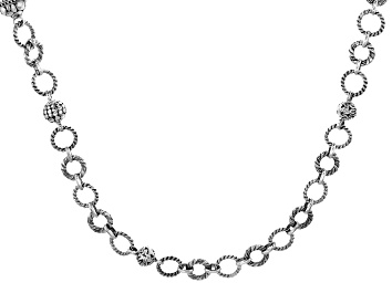 """Picture of Sterling Silver """"Glamour"""" Necklace"""