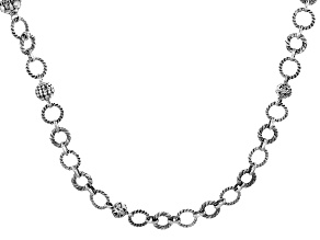 "Sterling Silver ""Glamour"" Necklace"