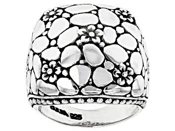 Picture of Sterling Silver Floral Ring