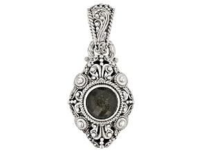 Golden Obsidian Silver Pendant