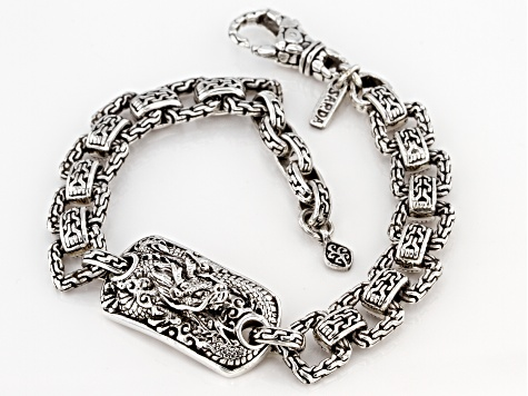 Sterling Silver Dragon Bracelet