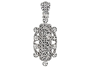 Sterling Silver Statement Pendant