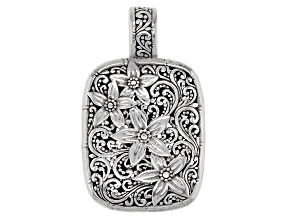 Sterling Silver Floral Enhancer