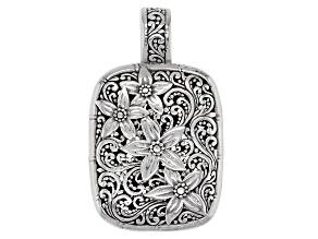 Sterling Silver Floral Enhancer
