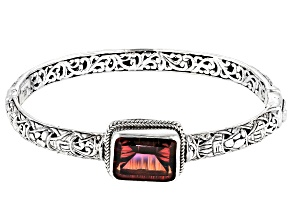 Hayward's Muse™ Quartz Silver Bangle Bracelet 7.48ctw