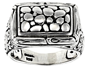 "Sterling Silver ""Increase Power Of The Weak"" Ring"