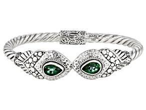Bali Hai Green™ Topaz Silver Bracelet 2.72ctw
