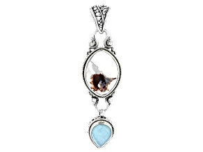 Aquaprase Sterling Silver Pendant