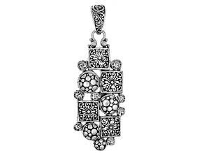 """Pearly Gates"" Oxidized Pendant"