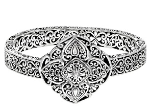 Sterling Silver Statement Bracelet