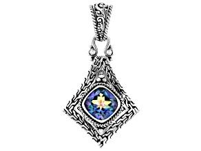 Blueicious™ Mystic Quartz Sterling Silver Pendant 4.68ctw
