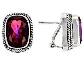 Bee Pink™ Mystic Quartz Stud Earrings 5.10ctw