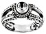White Topaz Sterling Silver Ring 0.55ct