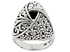 "Sterling Silver ""Faith Blossomed"" Ring"