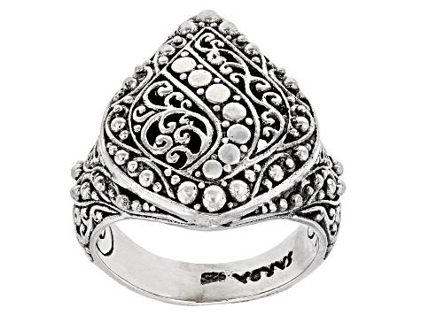 Sterling Silver Filigree Ring Sra328 Jtv Com