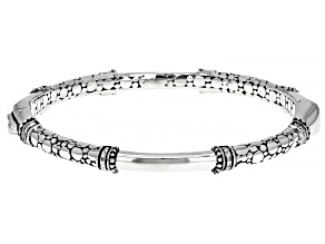 """Sterling Silver """"Without Conditions"""" Bangle Bracelet"""
