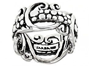"""Sterling Silver """"Without Conditions"""" Ring"""