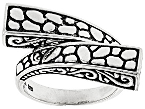 """Sterling Silver """"Changing Times"""" Bypass Ring"""