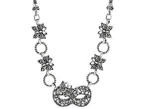 "Sterling Silver ""Masquerade"" Necklace"