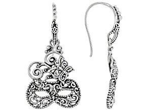 "Sterling Silver ""Masquerade"" Dangle Earrings"