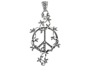 "Sterling Silver ""Peace Promise"" Pendant"