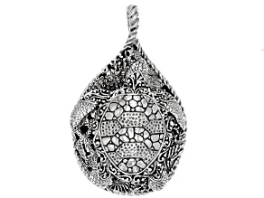 "Sterling Silver ""Sun- Kissed Turtle"" Pendant"