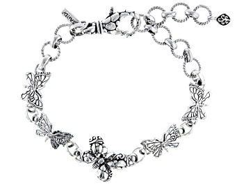 "Picture of Sterling Silver ""Transforming"" Butterfly Bracelet"