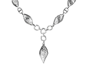 "Sterling Silver ""Unforgettable"" Necklace"