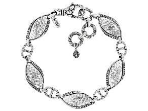 "Sterling Silver ""Unforgettable"" Bracelet"