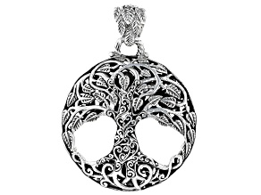 "Sterling Silver ""Tree Of Knowledge"" Pendant"