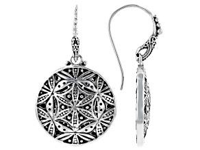 """Sterling Silver """"Looking Glass"""" Dangle Earrings"""