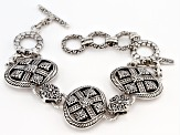 "Sterling Silver ""Grace Through Faith"" Bracelet"