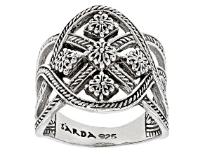 "Sterling Silver ""Grace Through Faith"" Ring"