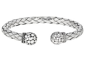 "Sterling Silver ""The Struggle Is Real""  Cuff Bracelet"