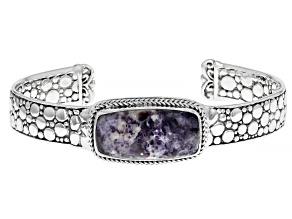 Tiffany Stone Silver Cuff Bracelet