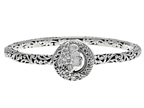 "Sterling Silver ""Earthnique"" Bangle Bracelet"